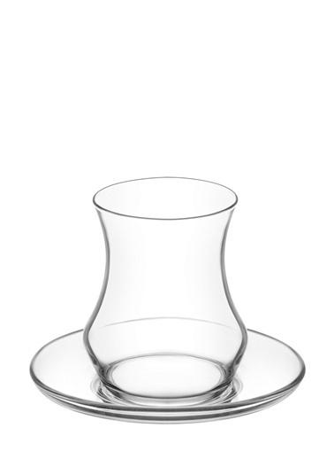 Lav Eda Çay Seti Çay Takımı - Çay Bardağı Takımı 24 Prç.12 Kişilik Renkli